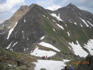 col fenetre e Mont Fallere