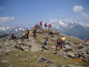 Monte Vertosan 2822mt.