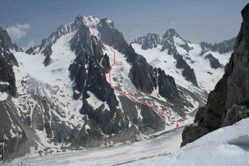 itinerario dai grands Montets + punto tenda