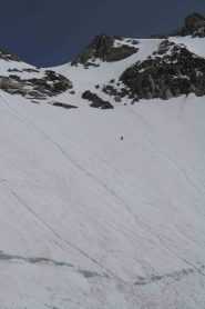 sotto l'imbuto,io sono sotto,quanto si è più veloci a scendere in sci!!!