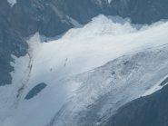 alpinisti sul ghiacciaio