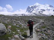 traverso di 4km per arrivare al ghiacciaio