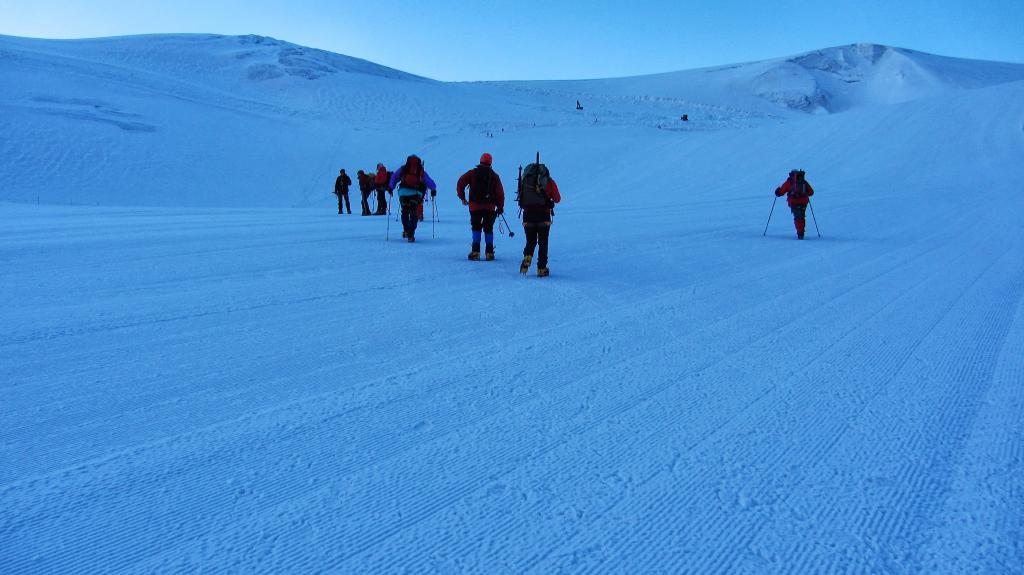 salendo verso il Colle del Breithorn...02 (14-7-2013)