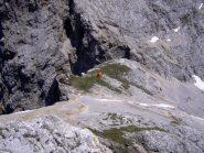 Bivacco Rigatti alla Forcella Grande m.2620