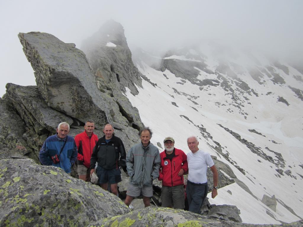 foto di gruppo sul Colle