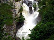 La potenza dell'acqua del torrente Forzo