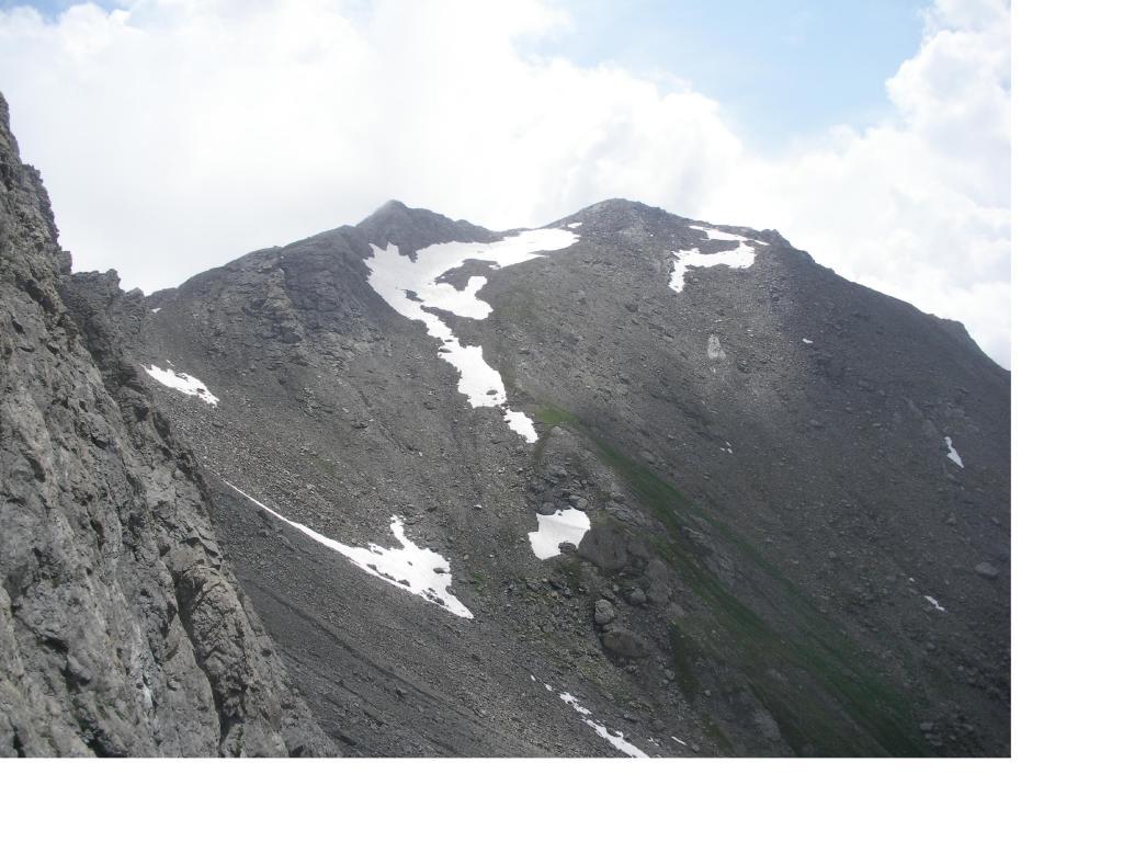 Capra (Punta della) da Rodoretto per il Passo della Capra e la cresta NO 2013-07-17