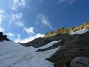 Sullo sfondo il Monte Vallonetto