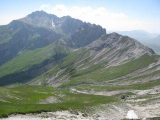 Sguardo verso il Monte Prena