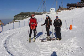 Claudio, Silvia e Frank