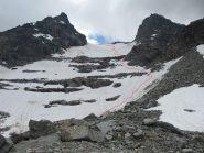 Parte inf. del ghiacciaio