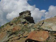 la cresta finale del Rocciavè