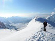 Aletschgletscher dalla quota 3946
