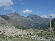 Arrivo al Col du Lac Blanc