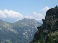 Monte Barbeston e Cervino sullo sfondo