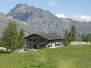 Il rifugio Barbustel