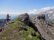 verso la vetta del mont de balme