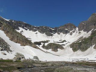 Dal Pian di Ballotta il Colle della Losa ed il Passo della Galisia e tanta neve