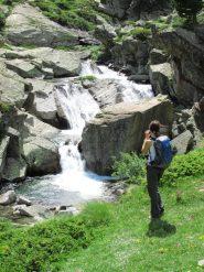 cascate salendo a Bardoney