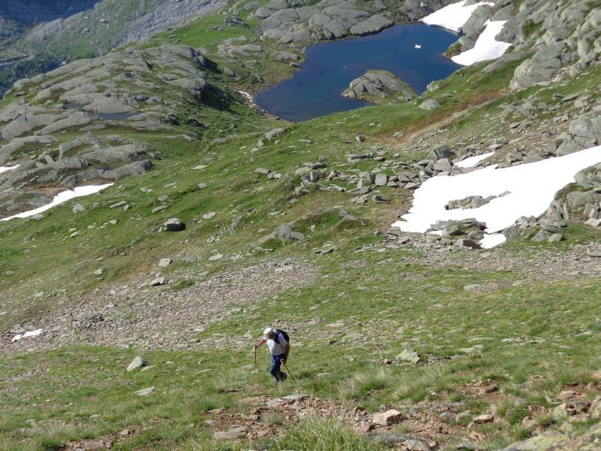 Rocce (Punta delle) dal Lago del Serrù 2013-07-21