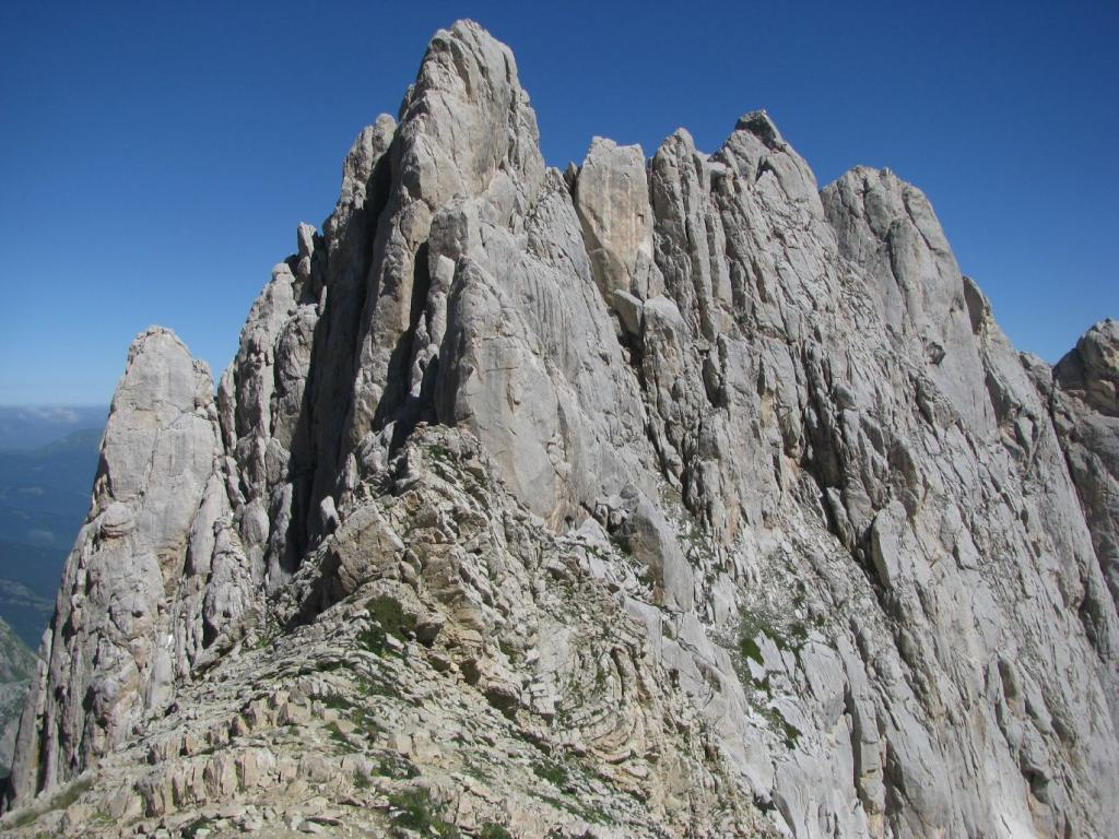 Corni (Sella dei Due) da Prati di Tivo per il Rifugio Franchetti 2013-07-22