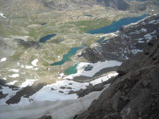 dalla vetta del Glacier