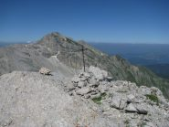 Croce di vetta e Monte Corvo