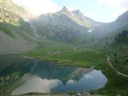 Serriera dell'Autaret dal Lago di San Bernolfo