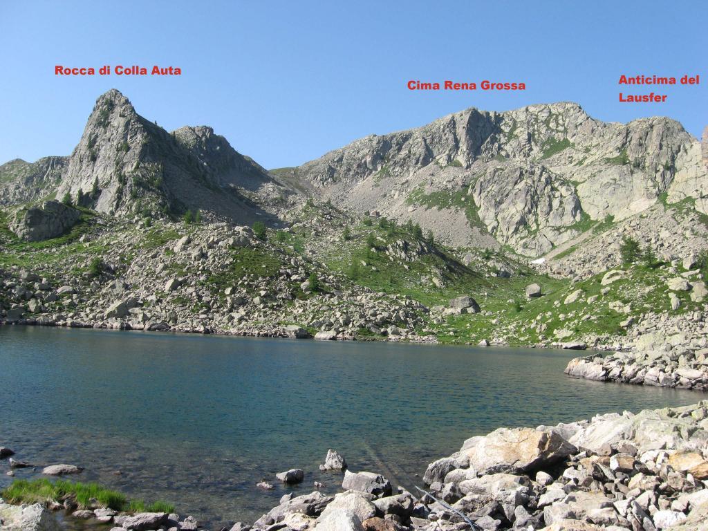 Colla Auta (Rocca della) Cresta Nord 2013-07-27