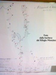 La relazione visuale tratta dalla bacheca del Rifugio