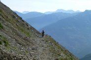 Vista verso la Val di Susa scatto a circa 2100m