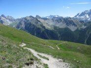 Verso il Col des Estronqes.