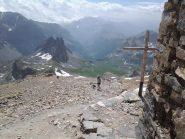 Dalla cima, tutta la valle Stretta