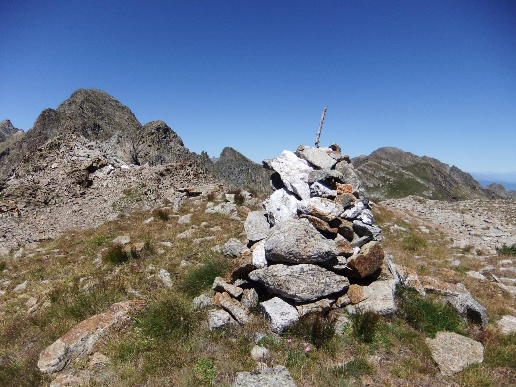 Ometto sulla cima sud della Scandeiera