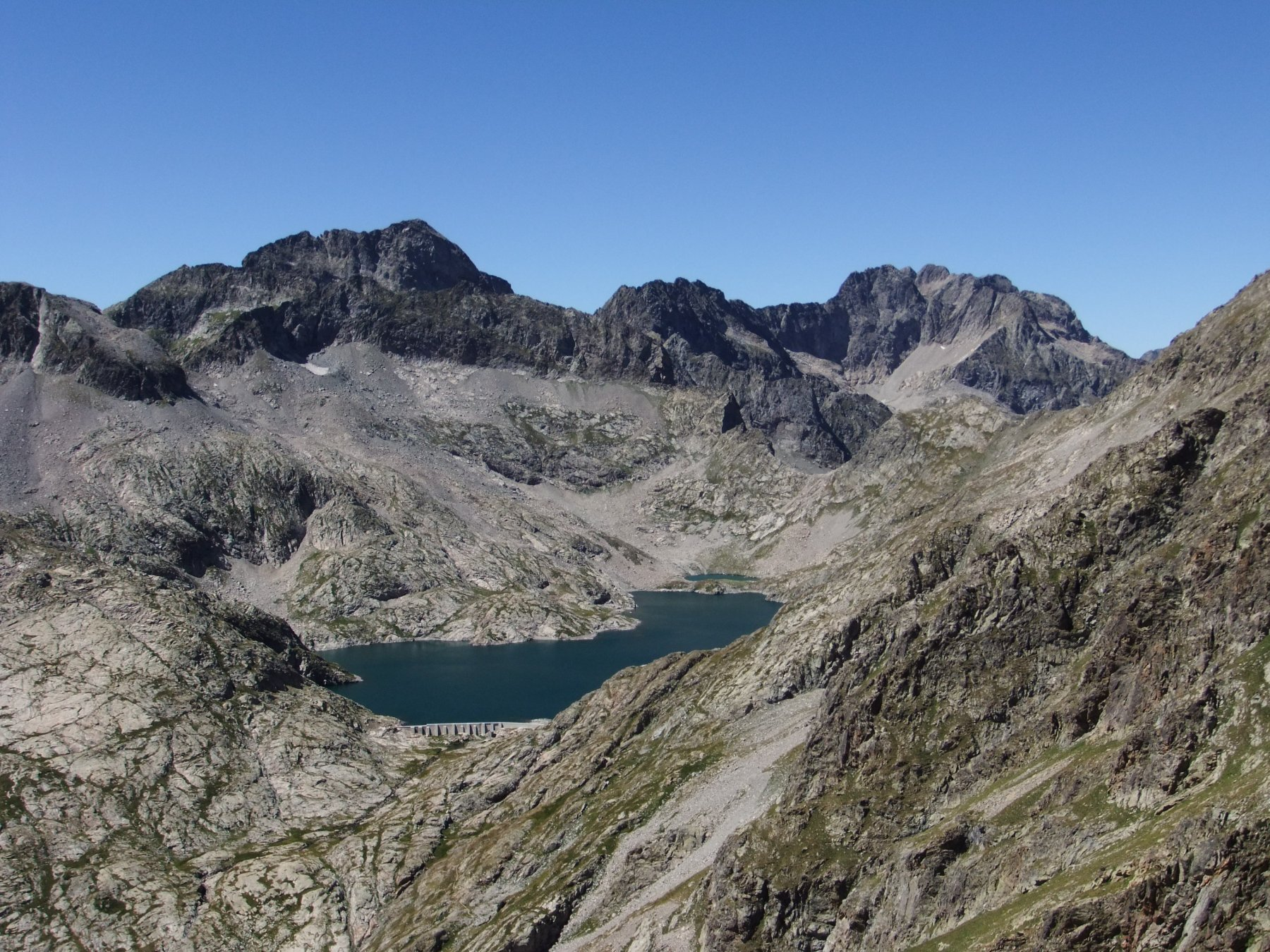 Lago dell' Agnello dalla Scandeiera