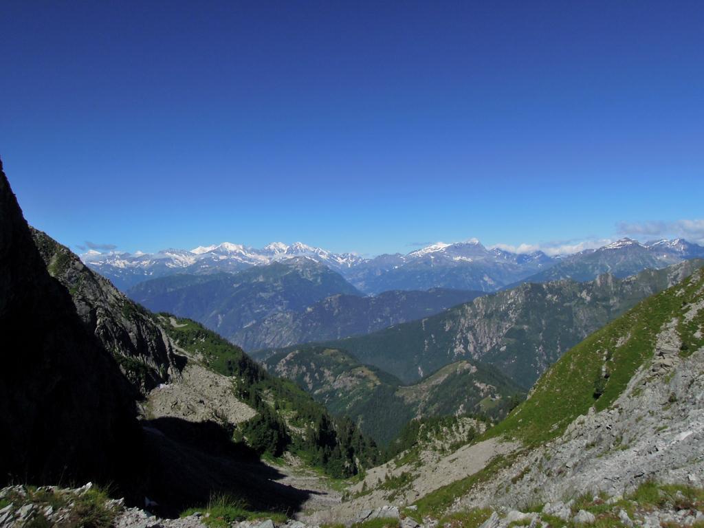 Vista dal Passo Campeia