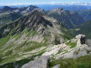 B. d. Ragozzo vista dalla cima