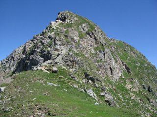 La cresta di salita alla Parej del magnin dal Colle del Prà