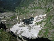 Il Lago Goiassa visto dalla finestra della cresta