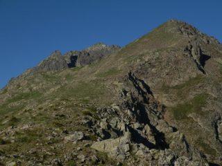 salendo alla Rocca Reiss