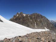 12 - dal ghiacciaio verso l'Aguille Rouge