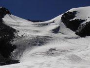 14 - traccia verso il Mont Pourri sul Glacier du Grand Col