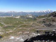 10- sguardo lungo il percorso in direzione di Les Arcs 2000