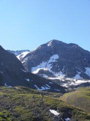 07 - Le Gran Col è a sinistra dell'Aguille du St-Esprit, a centro foto
