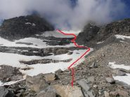 02 - salita su ghiacciaio, parte iniziale