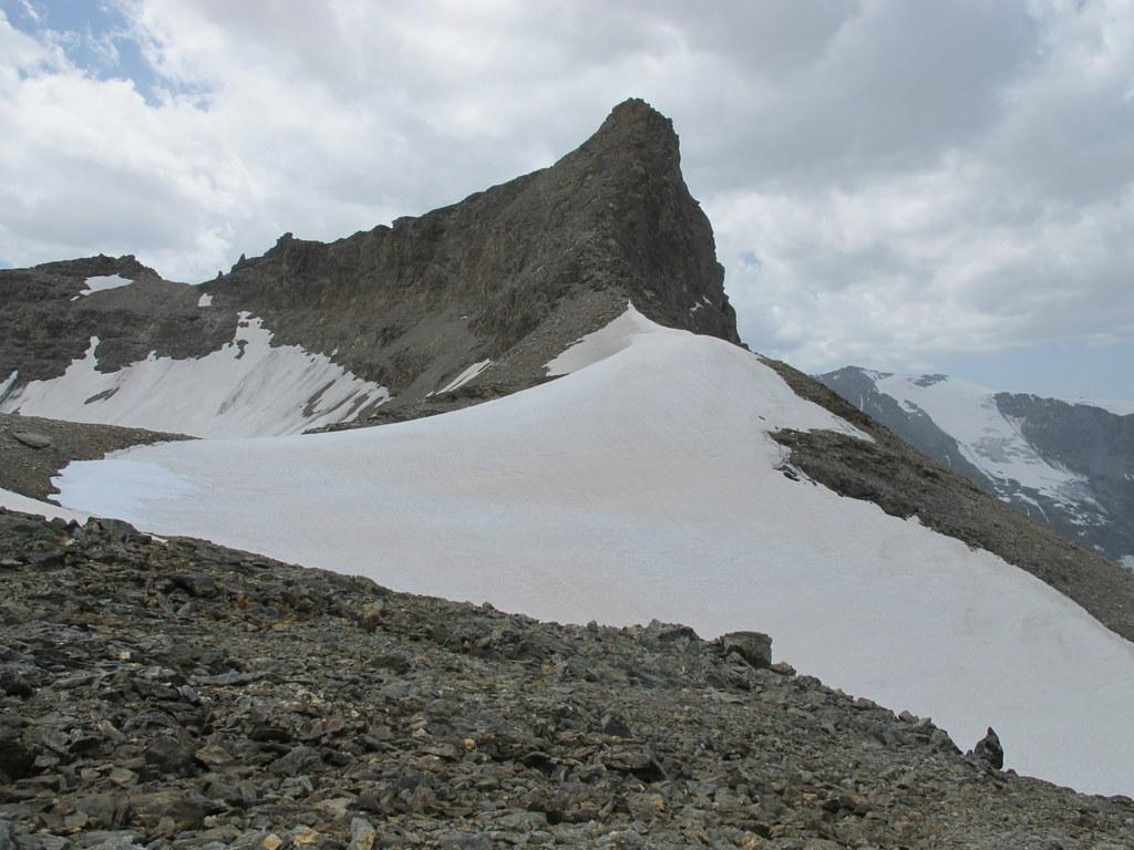 Blanc (Truc) Via Normale da Usellières per il Rifugio Bezzi 2013-08-03