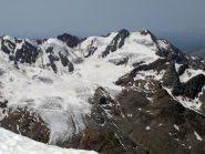 bacino Forni -pizzo Tresero a destra