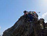 cresta aerea verso punta Pejo