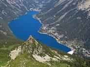 Impareggiabile vista sul lago di Ceresole