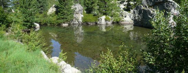 il primo lago Goullias